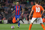 26.04.2017 Barcelona. La Liga , game 34. Picture show Sergio Busquets in action during game between FC Barcelona against Osasuna at Camp Nou01.12.2016 Barcelona.