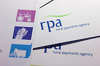 Rural Payments Agency forms.