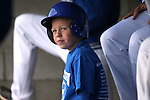 An unidentified bat boy watches the action of a college baseball game between Western Nevada College and the College of Southern Idaho at John L. Harvey Field, in Carson City, Nev., on Friday, March 28, 2014. <br /> Photo by Cathleen Allison/Nevada Photo Source