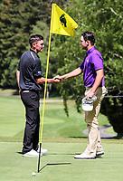 Charlie Smail wins the New Zealand Men's Amateur Championship. New Zealand Amateur Championship, Wairakei Golf Course and Sanctuary, Taupo, New Zealand, Sunday 4  November 2018. Photo: Simon Watts/www.bwmedia.co.nz