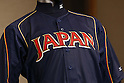 WBC Japanse team new uniforms for World Baseball Classic, DECEMBER 4, 2012 - Baseball : a press conference to announce the provisional 2013 World Baseball Classic member in Tokyo, Japan. (Photo by AFLO SORT) [1156]