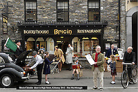 Killarney in the 1950's recreated for the Killarney Calendar Past & Present at Bricin Restaurant, Killarney.