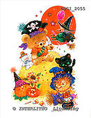 GIORDANO, CUTE ANIMALS, LUSTIGE TIERE, ANIMALITOS DIVERTIDOS, Halloween, paintings+++++,USGI2055,#AC#