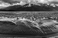 Summer landscape of mud along Turnagain Arm at low tide.  Alaska<br /> <br /> Photo by Jeff Schultz/SchultzPhoto.com  (C) 2018  ALL RIGHTS RESERVED<br /> OM Malik photo tour workshop August-September 2018