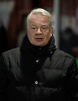 Crawley Town manager, Dermot Drummy seen prior to the Sky Bet League 2 match between Crawley Town and Exeter City at Broadfield Stadium, Crawley, England on 28 February 2017. Photo by Carlton Myrie / PRiME Media Images.
