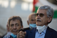 Massimo D'Alema second attempt to speak... achieved and he left the demo.<br />
