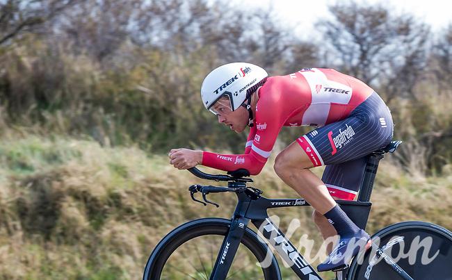 2nd place in GC: Matthias Br&auml;ndle (AUT/Trek-Segafredo) <br /> <br /> 3 Days of De Panne 2017<br /> afternoon stage 3b: ITT De Panne-De Panne (14,2km)