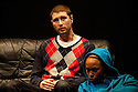 "18/05/2011.  ""Mad Blud"" opens at Theatre Royal Stratford East. A new work exploring the reality behind the headlines of knife crime. Cary Crankson and Joanne Sandi. Photo credit should read Jane Hobson"