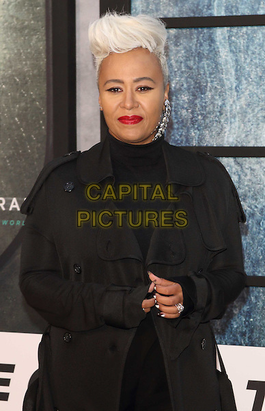 Emeli Sande at The Girl on the Train - world film premiere at the Odeon Leicester Square. London on September 20th 2016<br /> CAP/ROS<br /> &copy;Steve Ross/Capital Pictures