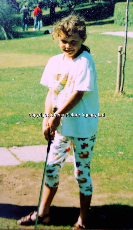 Pictured: Julie Barnett when she was 8 or 9<br /> Re: Julie Barnett has spoken about being sexually assaulted by lottery winner David Dyas in Wales, UK
