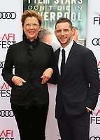 HOLLYWOOD, CA - NOVEMBER 12: Annette Bening and Jamie Bell at the Film Stars Won't Die In Liverpool Special Screening at the TCL Chinese Theatre in Hollywood, California on November 12, 2017. Credit: Faye Sadou/MediaPunch /NortePhoto.com