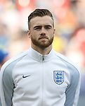 England's Calum Chambers in action during the UEFA Under 21 Semi Final at the Stadion Miejski Tychy in Tychy. Picture date 27th June 2017. Picture credit should read: David Klein/Sportimage