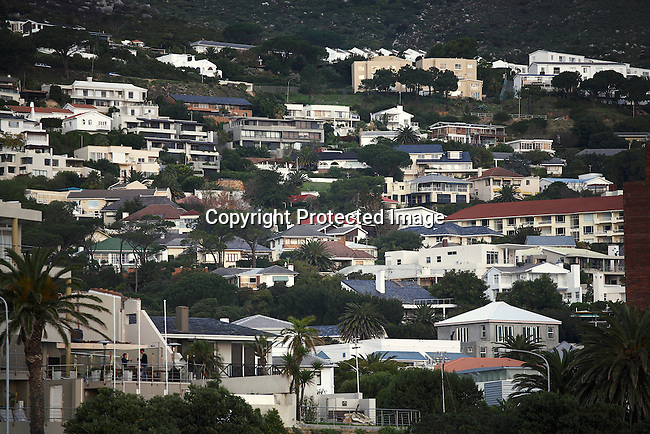 A view of the Camps Bay residental are in Cape Town. Its one of the most affluent areas in Cape Town. Photo by: Per-Anders Pettersson/Getty Images for Smithsonian Magazine.