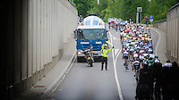 obstacle<br /> <br /> 2013 Tour of Luxemburg<br /> stage 1: Luxembourg - Hautcharage (184km)