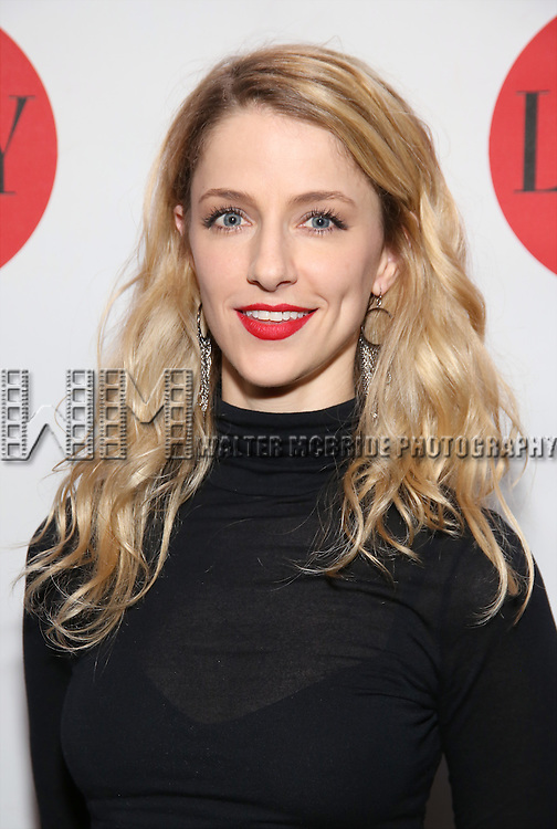 Erica Sweany attends The Lilly Awards Broadway Cabaret at the Cutting Room on October 17, 2016 in New York City.