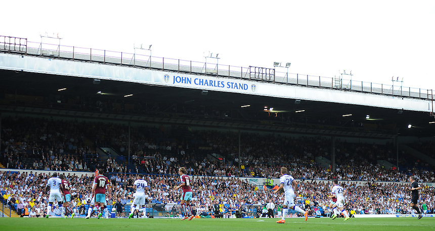 A general view of Elland Road, home of Leeds United<br /> <br /> Photographer Chris Vaughan/CameraSport<br /> <br /> Football - The Football League Sky Bet Championship - Leeds United  v Burnley - Saturday 8th August 2015 - Elland Road - Beeston - Leeds<br /> <br /> &copy; CameraSport - 43 Linden Ave. Countesthorpe. Leicester. England. LE8 5PG - Tel: +44 (0) 116 277 4147 - admin@camerasport.com - www.camerasport.com