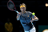 Alexander Zverev (GER) <br /> London 15/11/2019 O2 Arena <br /> Tennis Nitto ATP Finals 2019 <br /> Photo Melanie Jeusette / Panoramic/ Insidefoto