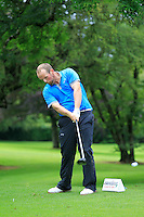 Simon Bryan (Delgany) on the 3rd tee during round 1 of The Mullingar Scratch Cup in Mullingar Golf Club on Sunday 3rd August 2014.<br /> Picture:  Thos Caffrey / www.golffile.ie