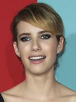 HOLLYWOOD, LOS ANGELES, CA, USA - OCTOBER 05: Emma Roberts arrives at the Los Angeles Premiere Screening Of FX's 'American Horror Story: Freak Show' held at the TCL Chinese Theatre on October 5, 2014 in Hollywood, Los Angeles, California, United States. (Photo by Celebrity Monitor)