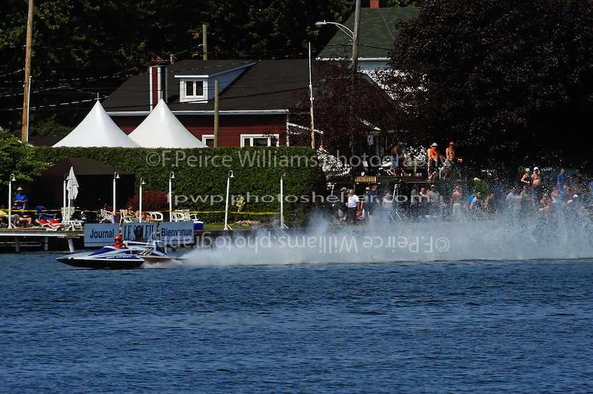 """Leo Croisetiere, E-50 """"Hot To Trot"""" (1986 Karelson 5 Litre class hydroplane)"""