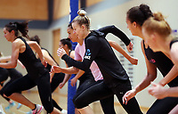 10.09.2018 Silver Ferns Katrina Grant during the Silver Ferns training in Auckland. Mandatory Photo Credit ©Michael Bradley.