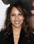 """WESTWOOD, CA. - December 16: Actress Christel Khalil  arrives at the Los Angeles premiere of """"Seven Pounds"""" at Mann's Village Theater on December 16, 2008 in Los Angeles, California."""