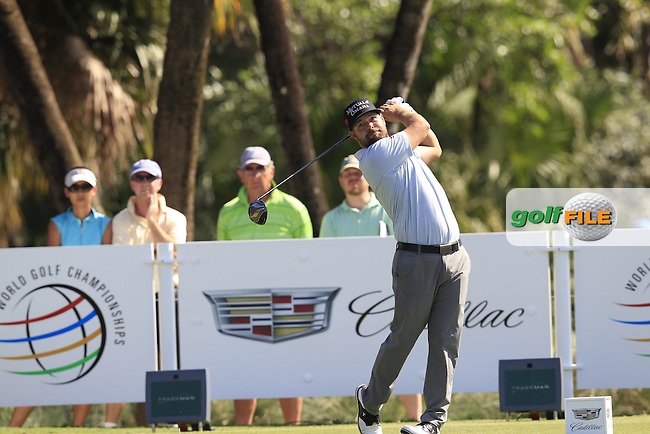 Ryan Moore (USA) during the 1st round at the WGC Cadillac Championship, Blue Monster, Trump National Doral, Doral, Florida, USA<br /> Picture: Fran Caffrey / Golffile