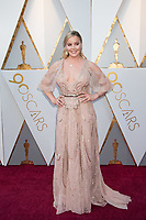 Abbie Cornish attends the 90th Annual Academy Awards at Hollywood &amp; Highland Center on March 4, 2018 in Hollywood, California.<br /> *Editorial Use Only*<br /> CAP/PLF/AMPAS<br /> Supplied by Capital Pictures