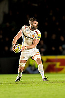 Exeter Chiefs' Geoff Parling<br /> <br /> Photographer Bob Bradford/CameraSport<br /> <br /> Aviva Premiership Round 20 - Harlequins v Exeter Chiefs - Friday 14th April 2016 - The Stoop - London<br /> <br /> World Copyright &copy; 2017 CameraSport. All rights reserved. 43 Linden Ave. Countesthorpe. Leicester. England. LE8 5PG - Tel: +44 (0) 116 277 4147 - admin@camerasport.com - www.camerasport.com