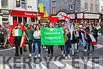 At  the  St Patrick's Day Parade on Thursday were Generation Integration