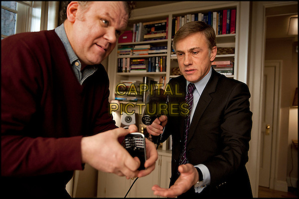 John C. Reilly & Christoph Waltz.in Carnage.*Filmstill - Editorial Use Only*.CAP/PLF.Supplied by Capital Pictures.