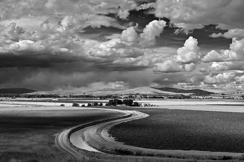 Scenic View overlook near Ontario, Oregon