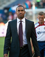 CARSON, CA – July 2, 2011: Chivas USA head coach Robin Fraser during the match between Chivas USA and Chicago Fire at the Home Depot Center in Carson, California. Final score Chivas USA 1, Chicago Fire 1.