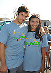 PACOIMA, CA. - October 10: Michael Rady and Jessica Lucas arrive at The 2009 American Dream Walk To Benefit Habitat For Humanity at Lowe's Home Improvement on October 10, 2009 in Pacoima, California.