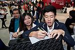 Longines Masters of Hong Kong at AsiaWorld-Expo on 11 February 2018, in Hong Kong, Hong Kong. Photo by Zhenbin Zhong / Power Sport Images