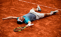 MARCO CECCHINATO (ITA)<br /> <br /> <br /> TENNIS - FRENCH OPEN - ROLAND GARROS - ATP - WTA - ITF - GRAND SLAM - CHAMPIONSHIPS - PARIS - FRANCE - 2018  <br /> <br /> <br /> <br /> &copy; TENNIS PHOTO NETWORK