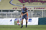 03 September 2016: Carolina's Connor Tobin. The Carolina RailHawks hosted the Jacksonville Armada at WakeMed Stadium in Cary, North Carolina in a 2016 North American Soccer League Fall Season game. Carolina won the match 1-0.