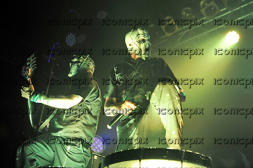 MUSHROOMHEAD - performing live at the Electric Ballroom in London UK - 30 Mar 2016.  Photo credit: Zaine Lewis/IconicPix