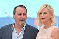"Jean Reno and Charlize Theron attends the ""The Last Face"" Photocall during the 69th Annual International Cannes Film Festival in Cannes, France, 20th May 2016. Photo Credit: Timm/face to face/AdMedia"