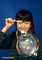 BH22-024x  Bubbles - girl making bubbles