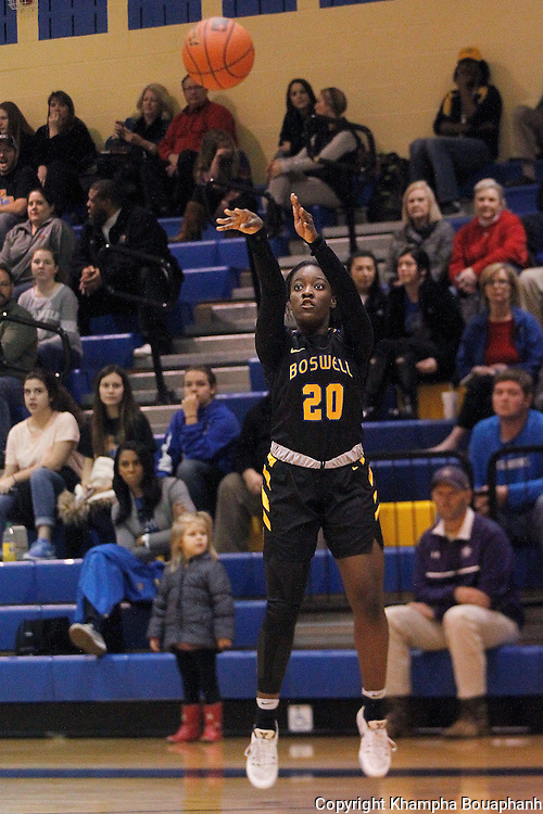 Boswell plays Denton and Chisholm Trail plays Denton Ryan in bi-district  basketball playoffs at Keller High School on Tuesday, February 14, 2017.