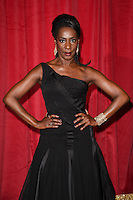 Jacqueline Boatswain<br /> arrives for the British Soap Awards 2016 at Hackney Empire, London.<br /> <br /> <br /> &copy;Ash Knotek  D3124  28/05/2016