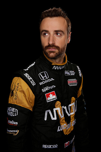 2 February, 2016, Indianapolis, Indiana USA<br /> James Hinchcliffe<br /> ©2016, Michael L. Levitt<br /> LAT Photo USA
