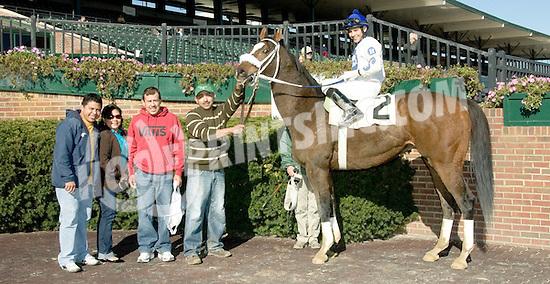 Flight to Eden winning at Delaware Park  on 11/2/10