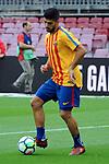League Santander 2017/2018 - Game: 7.<br /> FC Barcelona vs UD Las Palmas: 3-0.<br /> Luis Suarez.