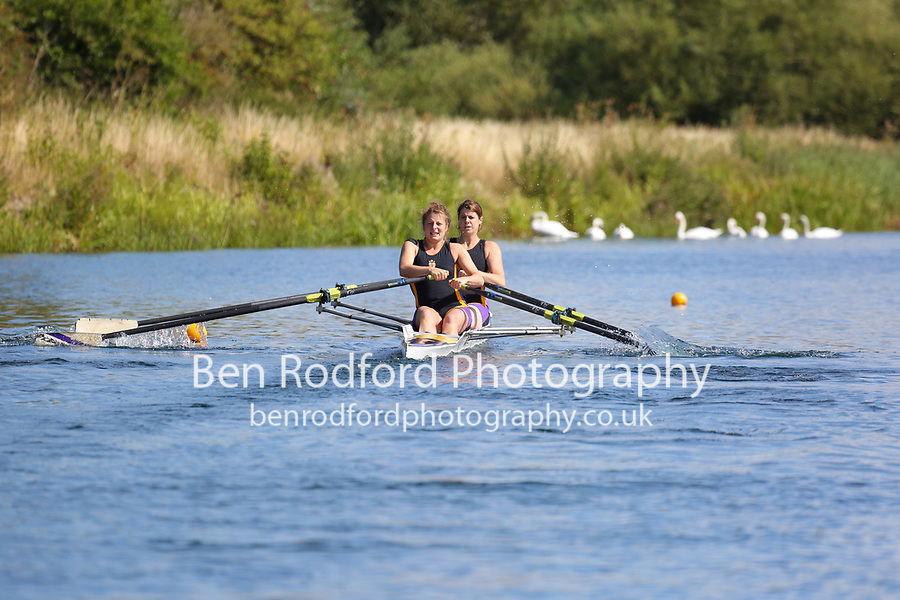 Race: 38  W.2x (Band 3)  Heat 3<br /> <br /> Peterborough Summer Regatta 2018 - Saturday<br /> <br /> To purchase this photo, or to see pricing information for Prints and Downloads, click the blue 'Add to Cart' button at the top-right of the page.