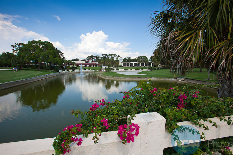 18 MAY 2012: The 17th hole at the Mission Inn Resort & Club in Howey-in-the-Hills, FL during the Division III Men's Golf Championship .  Oglethorpe won the team national title with a +19 score.  Matt Marriott/NCAA Photos