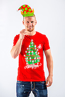 Wednesday 02 November 2016<br /> Pictured: <br /> Re: Swansea City Christmas Photo shoot, Liberty Stadium, Wales, UK