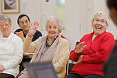 Health Awareness session at the weekly over-50s group at Greenside Community Centre, Lisson Green.