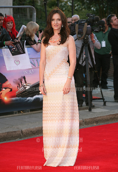 Rochelle Rose arriving for the Titanic 3D film premiere, Royal Albert Hall, London. 27/03/2012 Picture by: Alexandra Glen / Featureflash